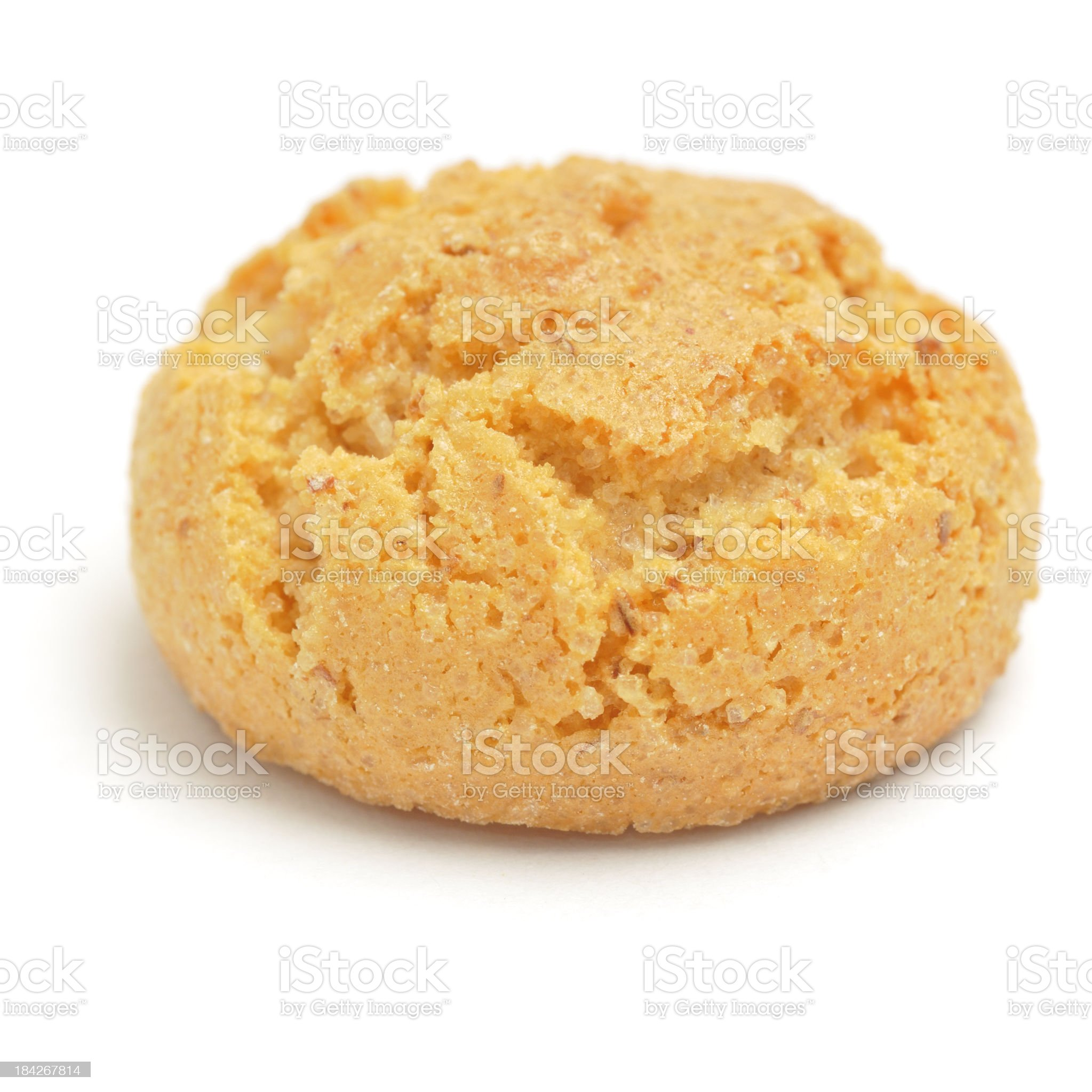 Amaretti biscuit royalty-free stock photo