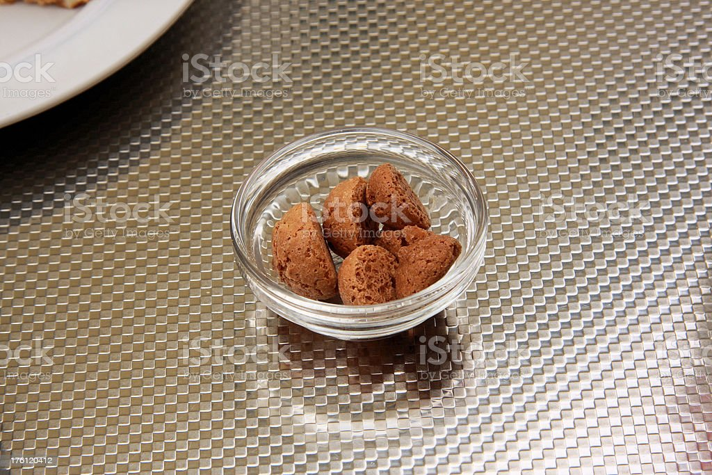 amarettini stock photo
