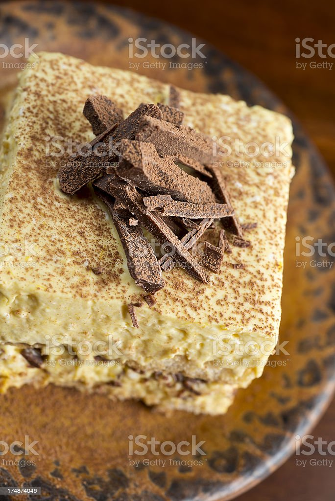 Amaretto Tiramisu royalty-free stock photo
