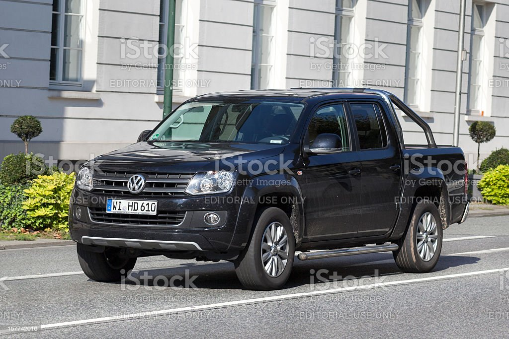 VW Amarok stock photo