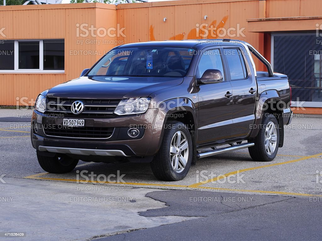 Amarok Volkswagen stock photo