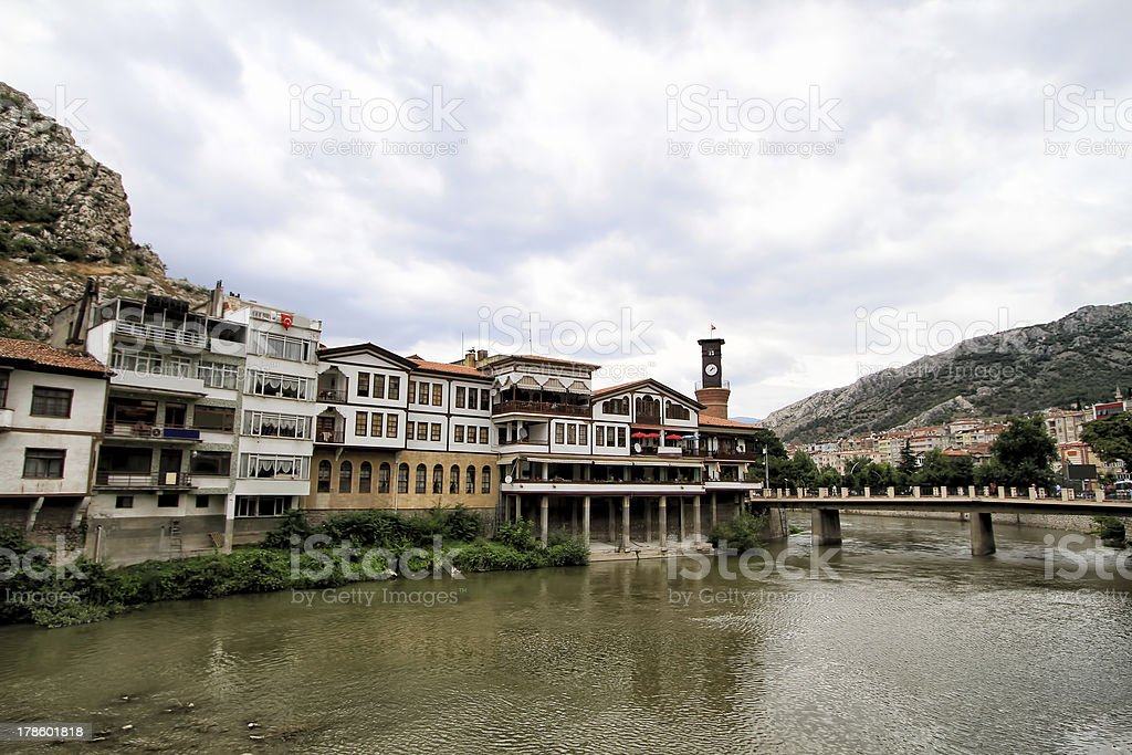 Amasya province in Turkey stock photo