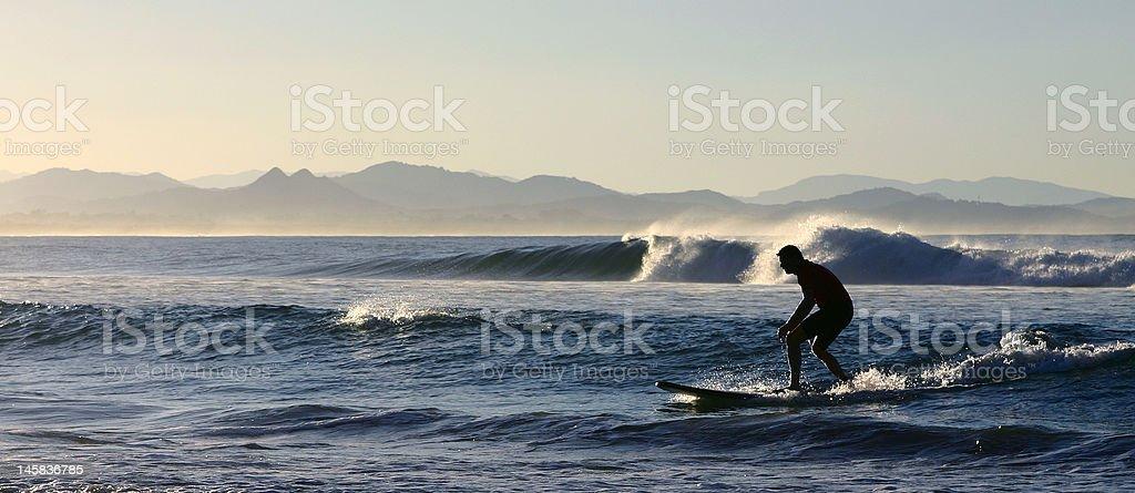 amateur surfer stock photo