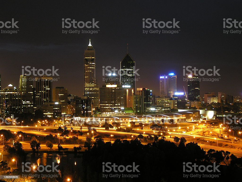 amazing and the most isolated city in the world royalty-free stock photo