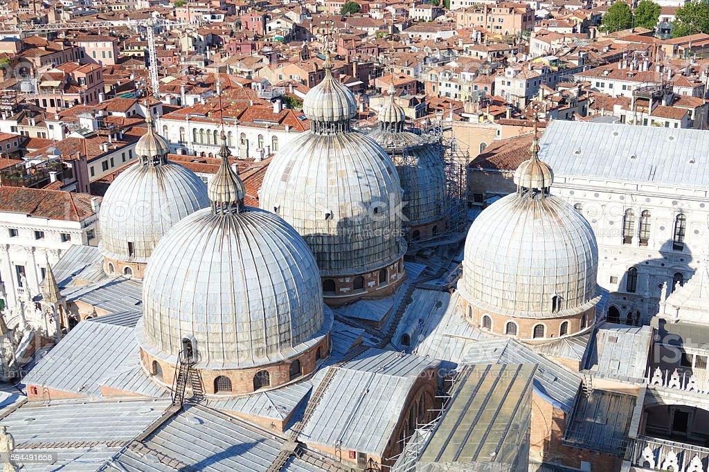 Amazing Basilica San Marco in Venice Lizenzfreies stock-foto