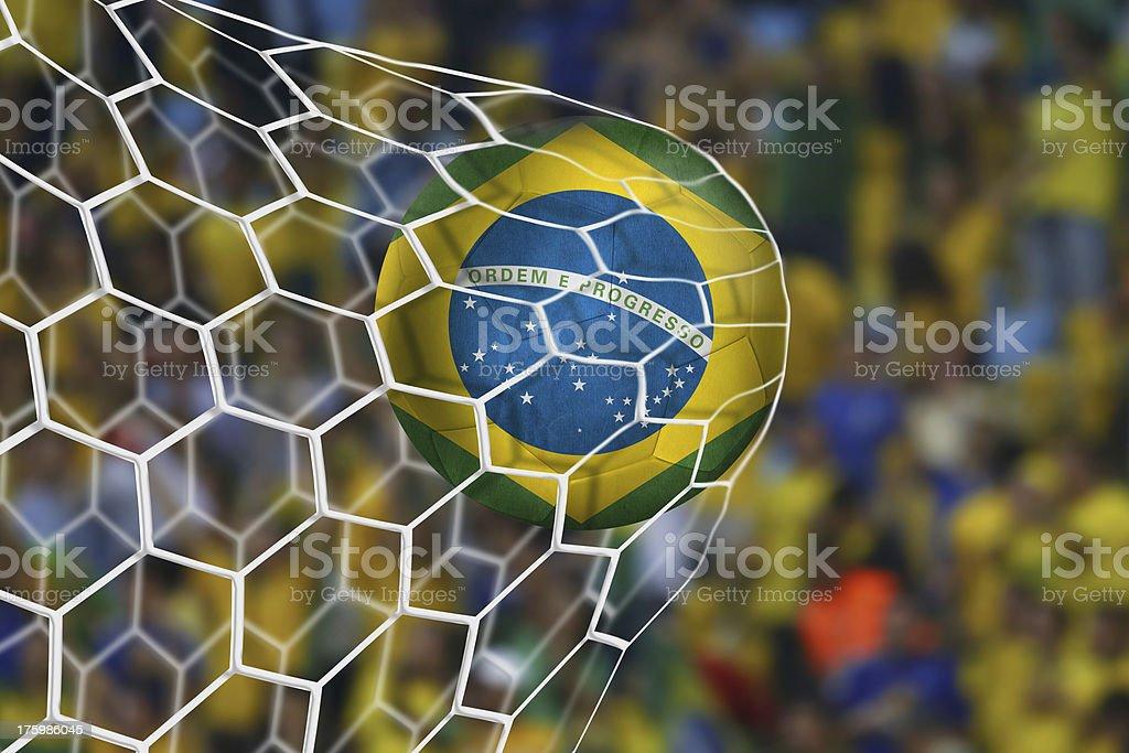 Amazing Brazilian Goal stock photo