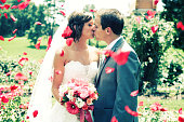 Amazing Bride and Groom Happy Wedding Dress