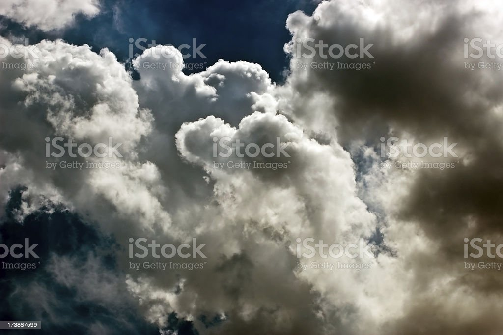 Amazing Clouds royalty-free stock photo