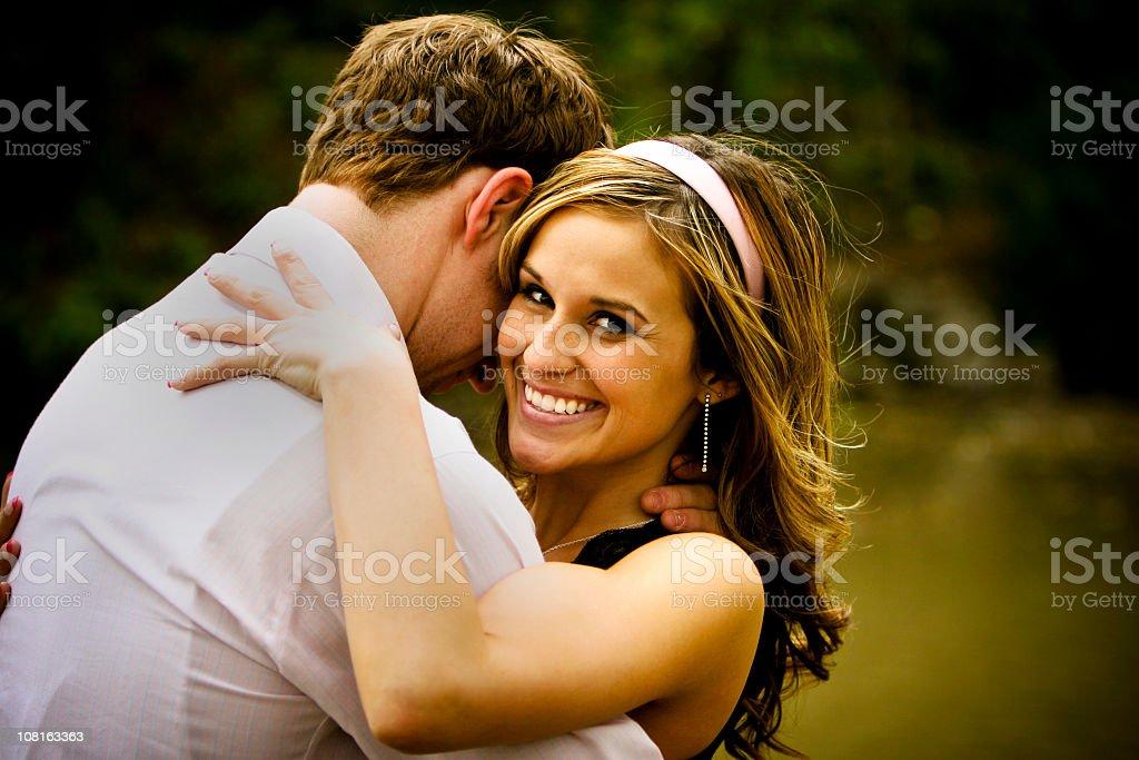 amazing couple portraits royalty-free stock photo