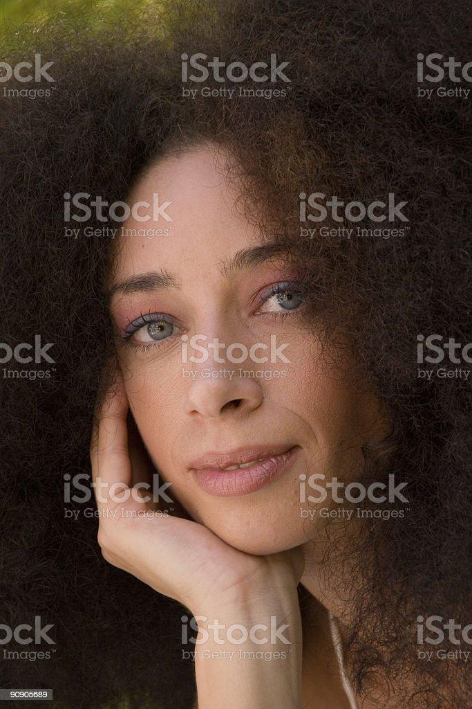 Amazing eyes stock photo