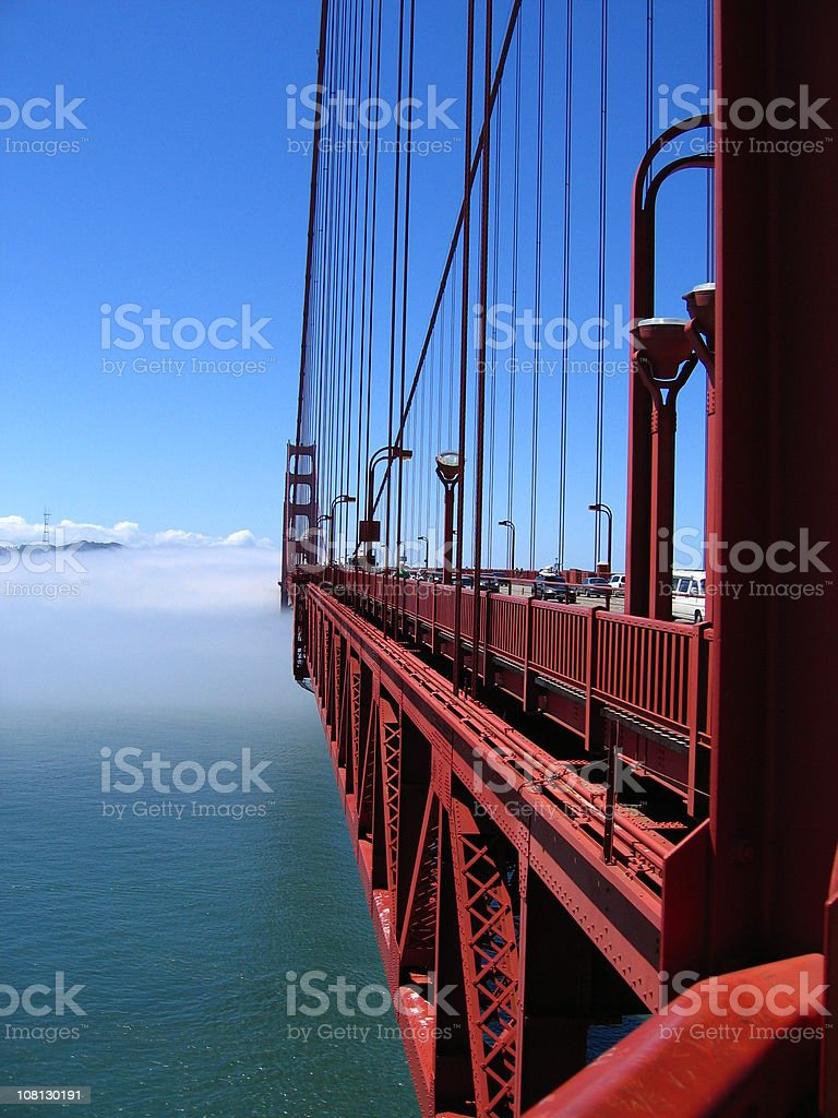 Amazing Golden Gate Bridge royalty-free stock photo