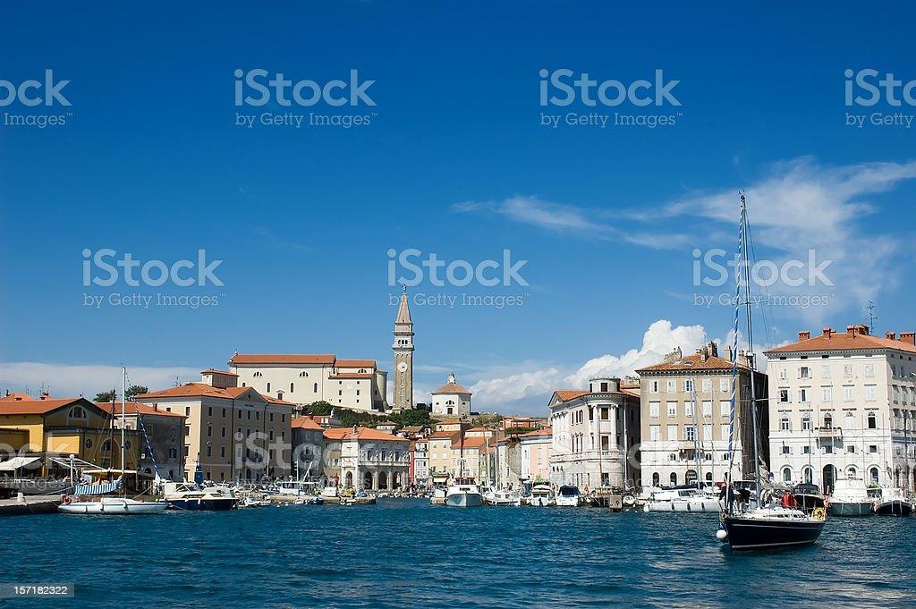 Amazing harbor stock photo