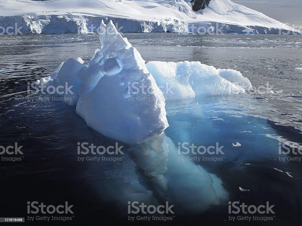Amazing Iceberg stock photo