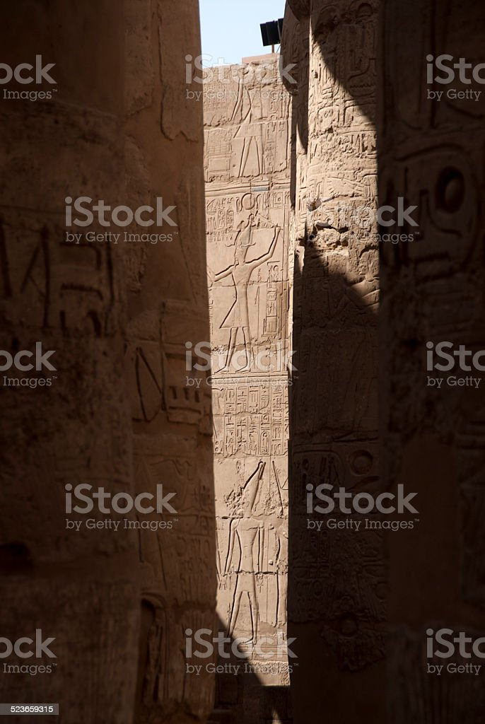 Amazing Karnak stock photo