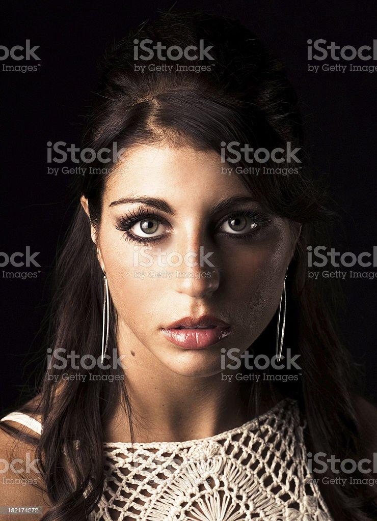 Amazing Portrait royalty-free stock photo