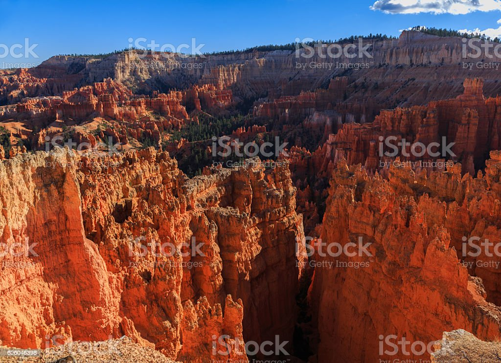 Amazing scenic view of the hoodoos. Bryce Canyon National Park, stock photo