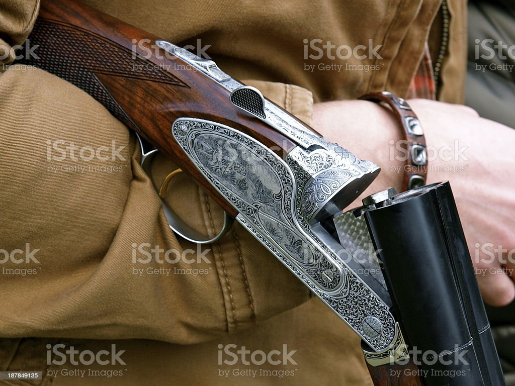 Amazing Shotgun stock photo