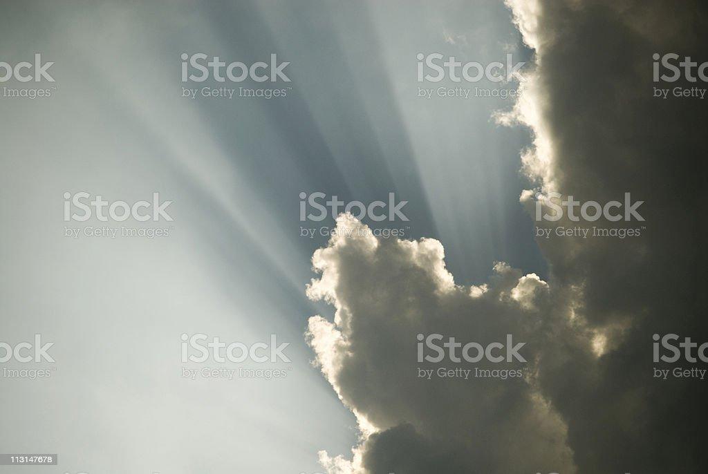 Amazing Sky Background royalty-free stock photo