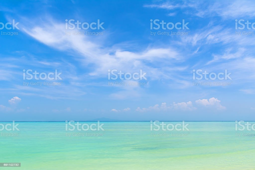 Amazing view  from the beautiful beach at Phi Phi island. Location: Phi Phi island, Krabi, Thailand, Andaman Sea. Artistic picture. Beauty world. stock photo