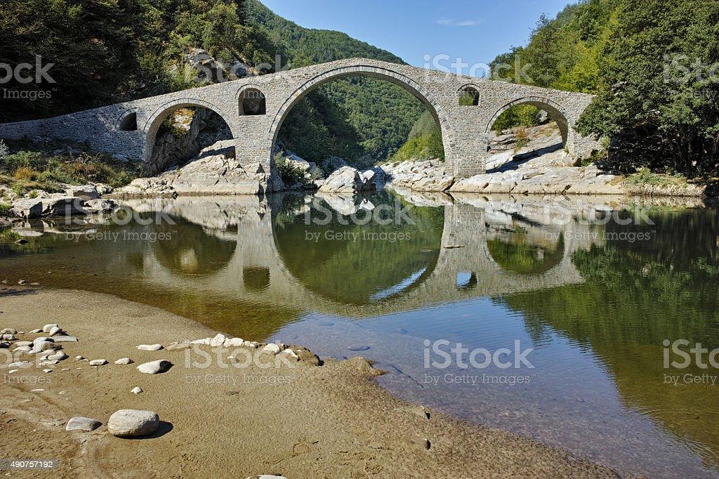 Amazing view of Devil's, Bulgaria stock photo