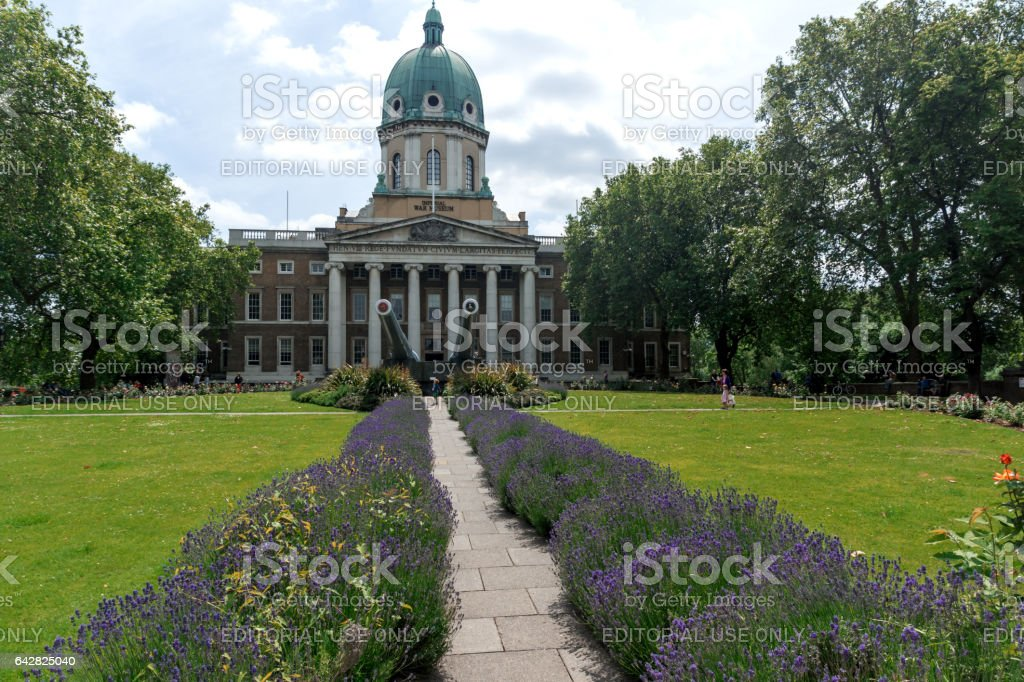 LONDON, ENGLAND - JUNE 19 2016: Amazing view of Imperial War Museum, London, England stock photo