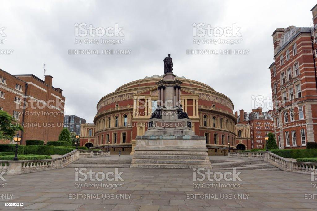 Amazing view of Royal Albert Hall, London stock photo