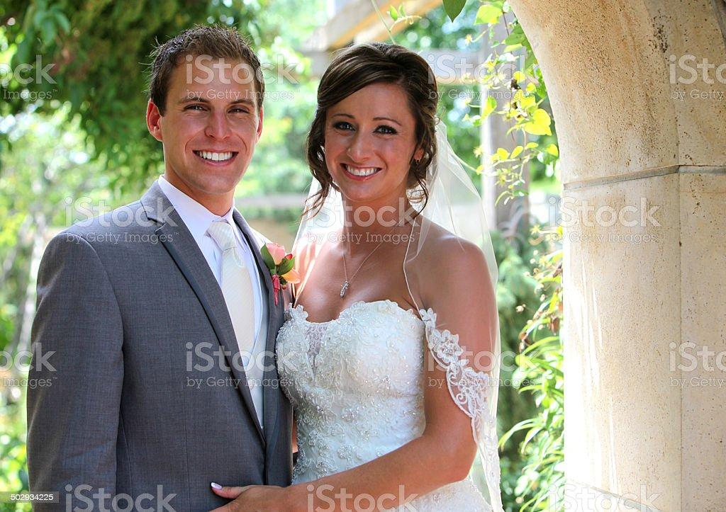 Amazing Wedding Portraits stock photo