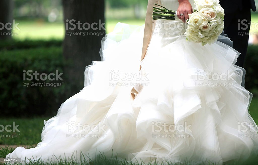 Amazing Wedding Portraits stock photo