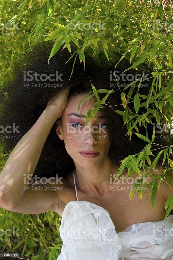 Amazing woman stock photo