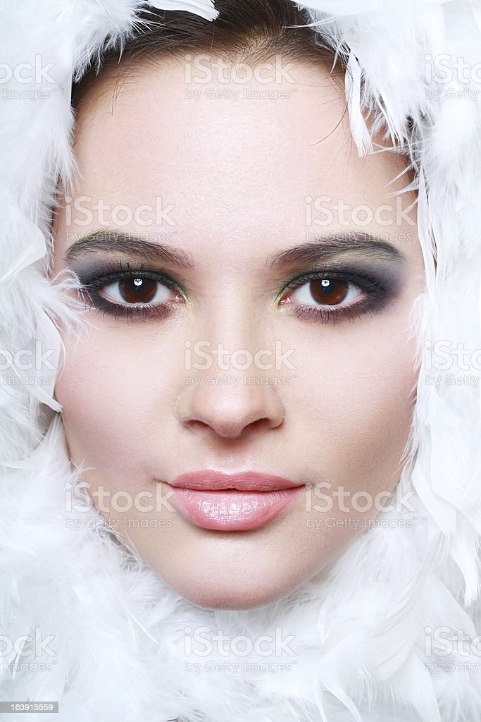 amazing young woman royalty-free stock photo