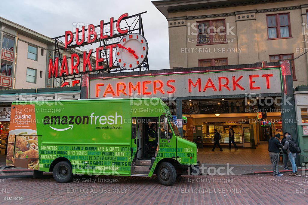 Amazon Fresh stock photo