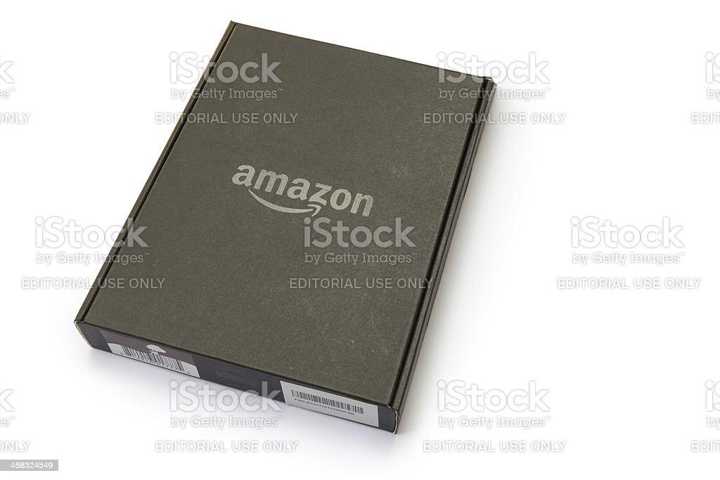 Amazon kindle 5 stock photo