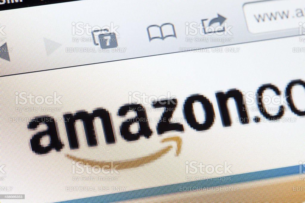 Amazon logo stock photo