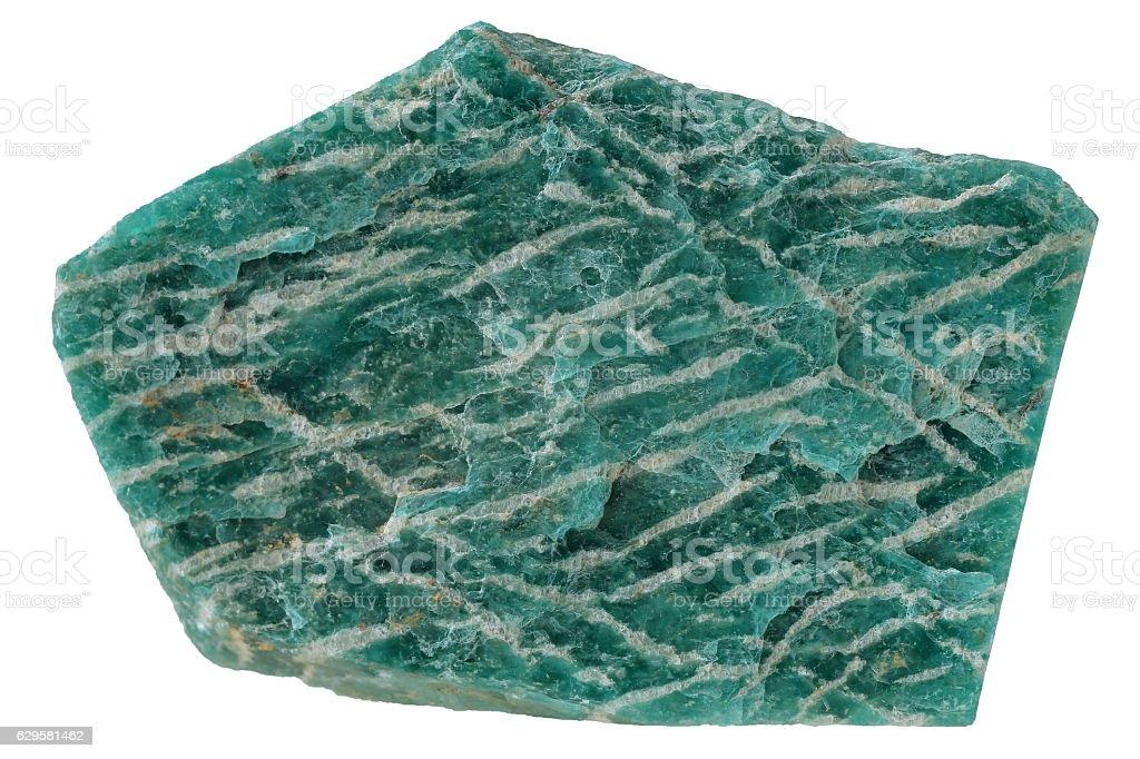 Amazonite mineral texture stock photo