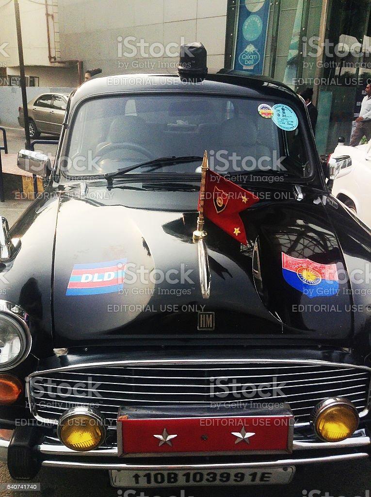 Ambassador (retro vintage car) stock photo