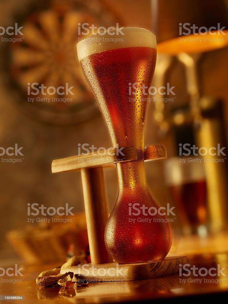 Amber Ale royalty-free stock photo