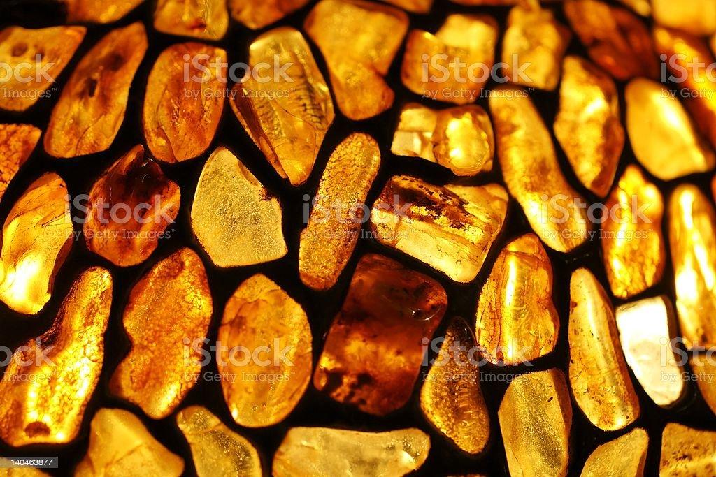 amber background royalty-free stock photo