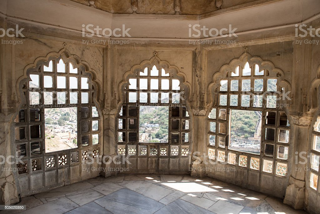 Amber Fort Beauty stock photo