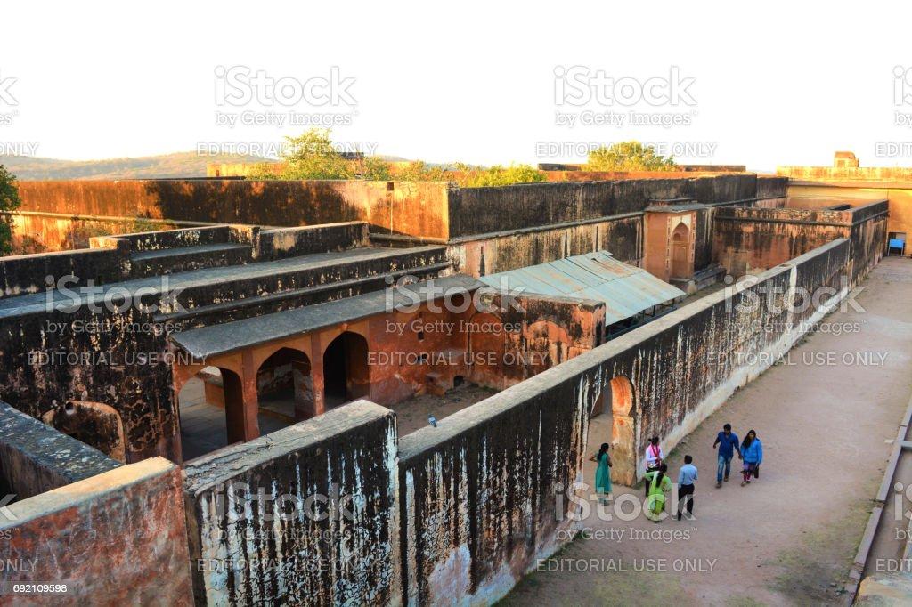Amber Fort in Jaipur stock photo