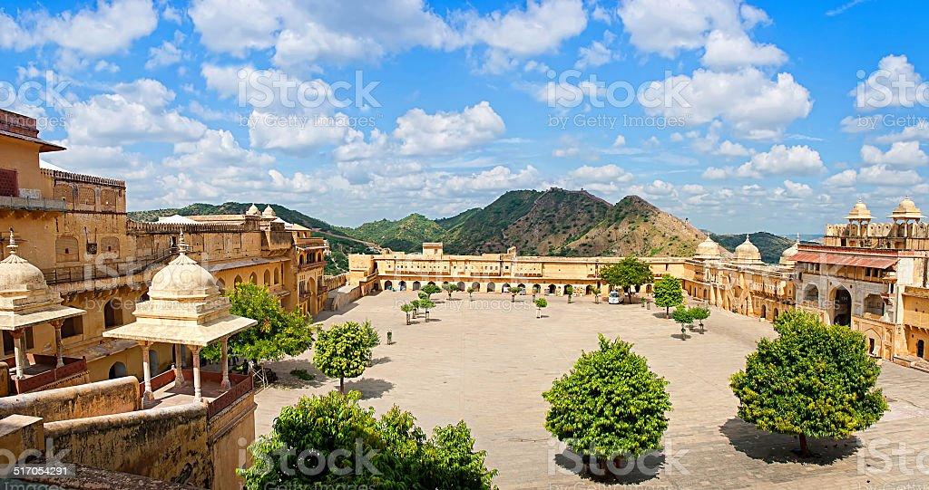Fort d'Amber de Jaipur, Rajasthan, Inde photo libre de droits