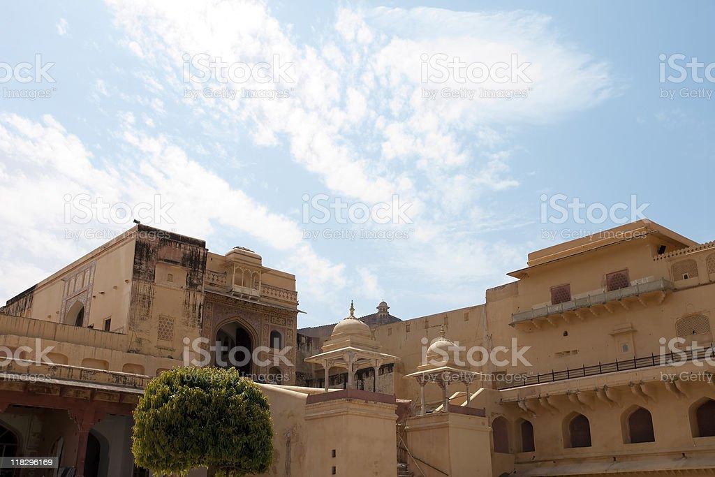 Amber Fort, Jaipur, India royalty-free stock photo