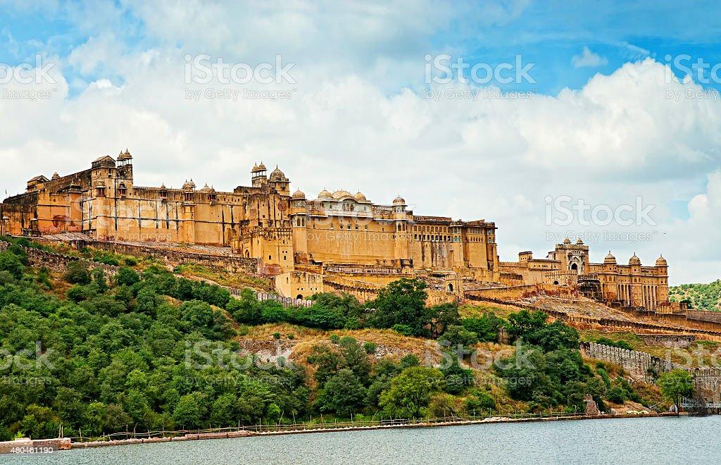 Amber Fort, Jaipur, Rajasthan, India. stock photo
