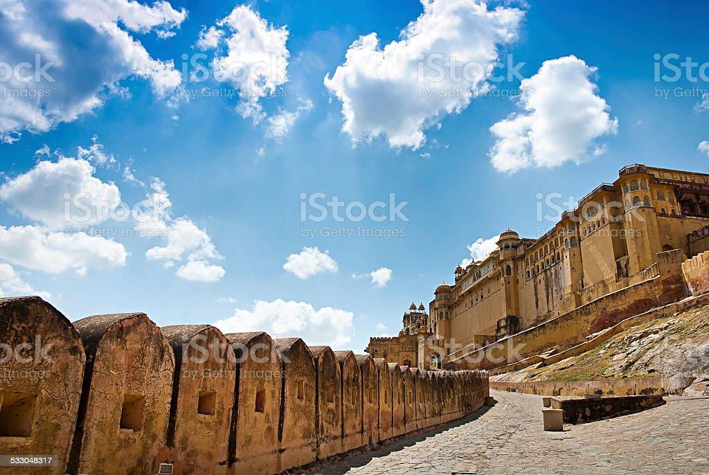 Fort d'Amber, Jaipur, Rajasthan, Inde. photo libre de droits