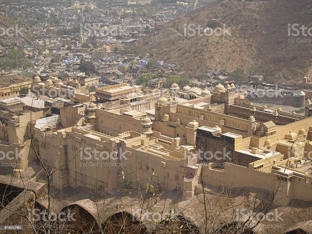 Amber Fort royalty-free stock photo