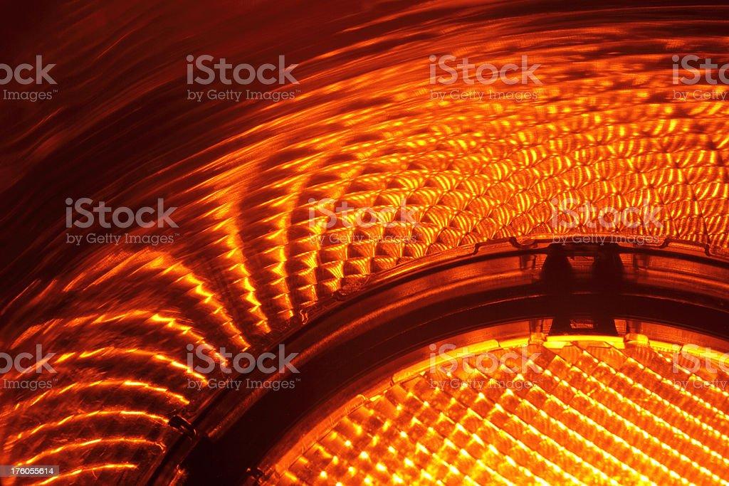 Amber Light royalty-free stock photo
