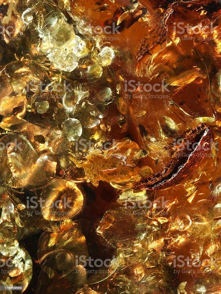 Amber Macro Abstract Background stock photo