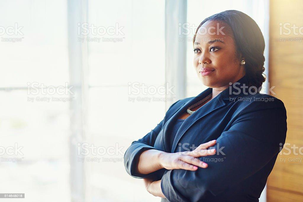Ambition on fleek stock photo