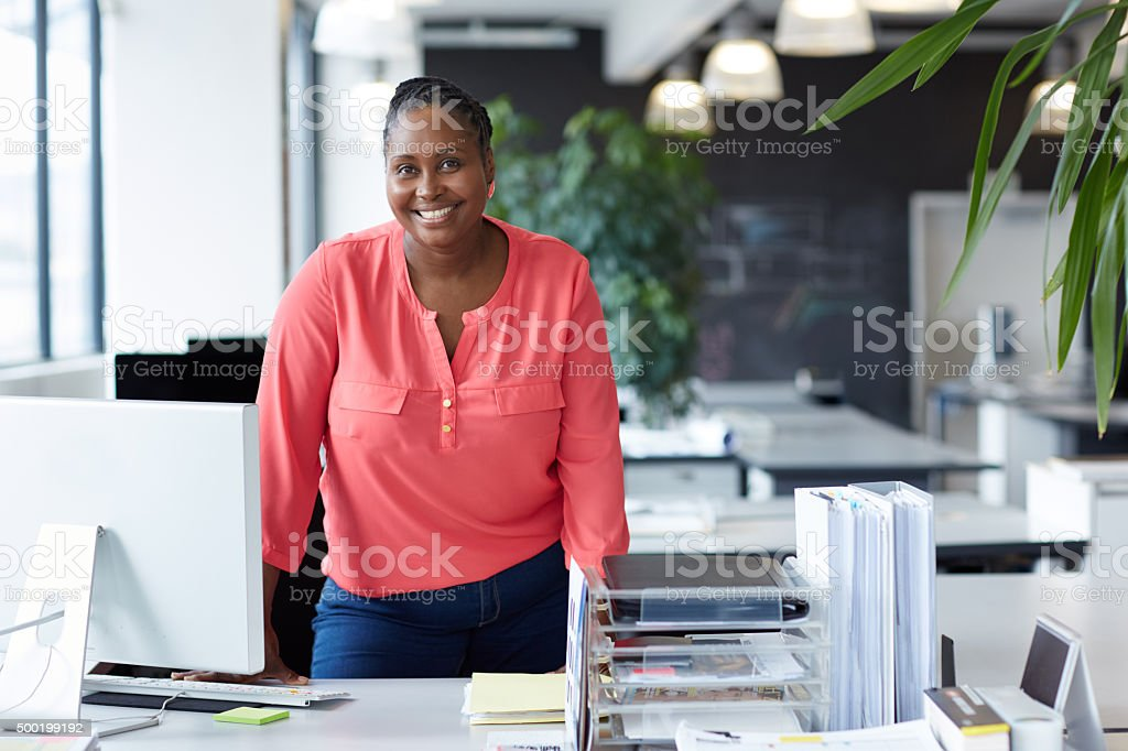 Ambitious, motivated and determined stock photo