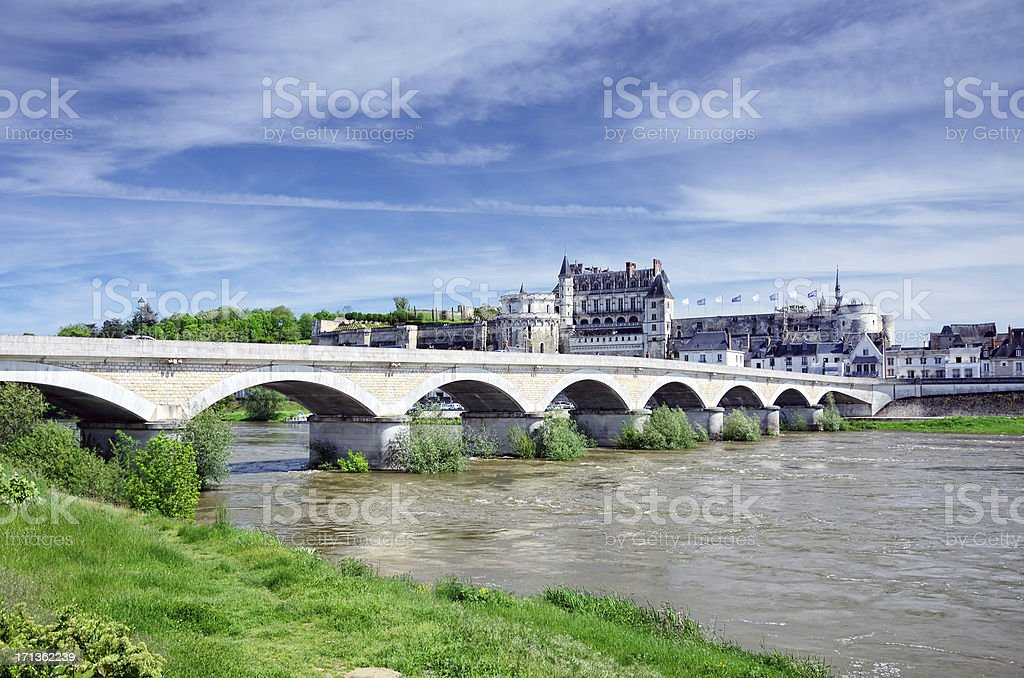 Amboise, France stock photo