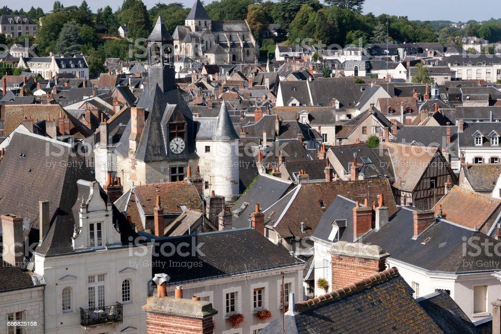 Amboise France stock photo